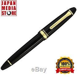 Sailor 1911 Large Black GT 21K Gold Medium Point Fountain Pen 11-2021-420
