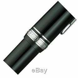 Sailor 1911 Silver Profit Large 21K Fountain Pen Black Medium Nib 11-2024-420