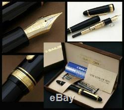 Sailor KOP Fountain Pen King Profit ST Black Broad Nib 11-6001-620