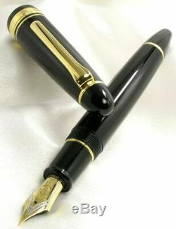 Sailor KOP Fountain Pen King Profit ST Black Medium Nib 11-6001-420