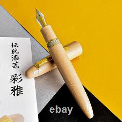 Sailor KOP King Of Pen Ebonite Urushi Iro Miyabi Usuko 21K Gold M Fountain Pen