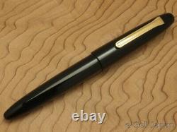 Sailor King of Pen (KOP) BK Ebonite Medium nib 21K & Wooden box 11-7002-420