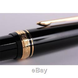 Sailor Professional Gear Black GT 21K Gold Medium Point Fountain Pen 11-2036-420