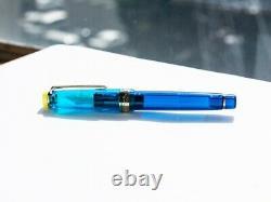 Sailor Professional Gear Cocktail Fountain Pen Kure Azur MF Nib 11-2045-340