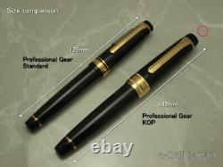 Sailor Professional Gear KOP Silver Medium nib 21K with converter 10-9619-420