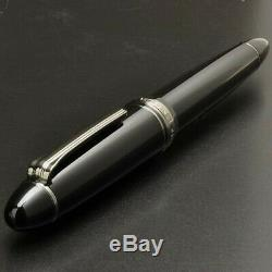 Sailor Profit 1911 Black Luster 21K Fountain Pen Extra Fine Nib 11-3048-120