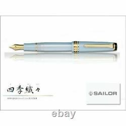 Sailor SHIKIORI 1911 Fountain Pen HARUZORA Medium Fine 11-1224-301