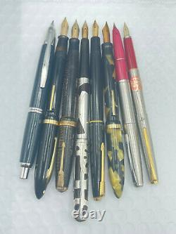 Vintage 15 Fountain pen pencil lot from estate parker watermans pIlot sheaffer