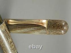 Vintage Pelikan 101 Lizard Celluloid Fountain Pen 1930s Rare to find