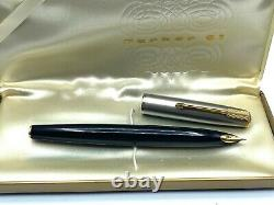 Vintage RARE PARKER 61 Fountain pen EXPERIMENTAL MODEL Minty in Box