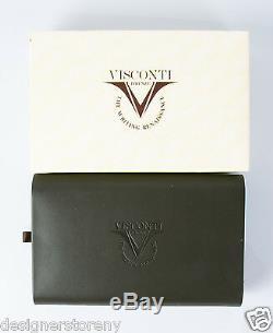 Visconti Homo Sapiens Volcanic Lava Black Bronze Medium Fountain Pen V-46602-M