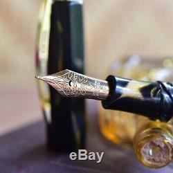 Visconti Medici 2019 Black & Gold Basilica Fountain Pen