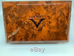 Visconti Opera Black Guilloche Fountain Pen