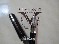 Visconti Opera Black Wall St Prototype fountain pen Fine 14kt Au nib MIB