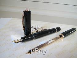 Visconti Opera Master Australis black LE Fountain pen 23kt Pd F nib MIB