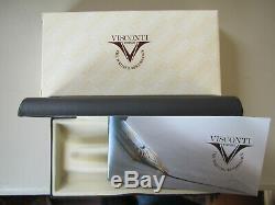 Visconti Opera Metal True Black Fountain pen Smartouch Tubular nib MIB