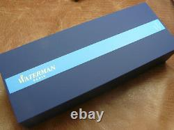 WATERMAN CARENE AMBER SHIMMER FOUNTAIN PEN 18K FINE NIB NEWithBOX/WARRANTY