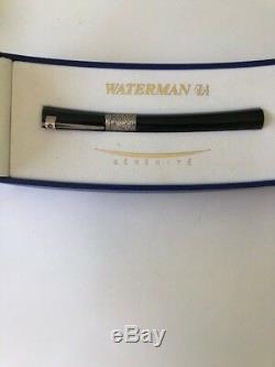 Waterman Fountain Pen Serenite Black New