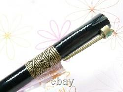 Waterman Serenite Fountain Pen Broad 18k Gold Nib Complete With Box Papers Ink