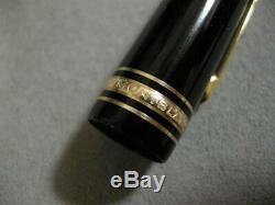 Authentique Meisterstück Modèle 149 18k Or 4810 Fountain Pen Vintage