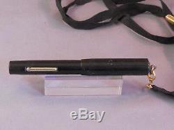 Bague Vintage Black Top Fountain Pen Flexible Pointe Fine