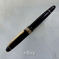 C1950 1ère Version Celluloïd Montblanc Meisterstück 142g Fountain Pen 14k B Nib
