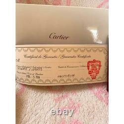Cartier Fountain Pen Limité À Seulement 4 Au Japon Freeship Très Rare