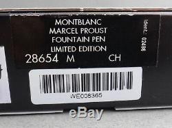 Etanche Montblanc Writers Limited Edition Marcel Proust # 08365/21000 M Année 1999