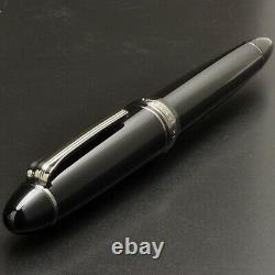 Fine Sailor Profit Noir Lustre 21k Or Fountain Pen 1911 Japon