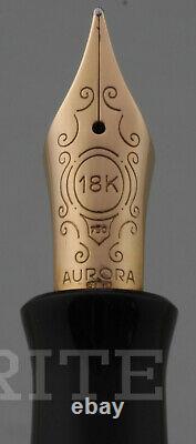 Fountain Pen Aurora Limited Edition Jubileum 1690/2000 Nib M Boîte Complète