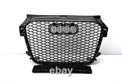 Front Grill Look Rs1 Noir Pour Audi A1 8x 2010-14 Honeycomb Grill Cricket