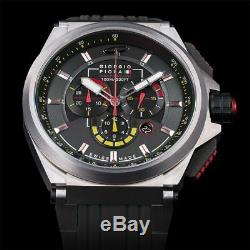 Giorgio Piola Montre Strat-3 Black Ltd Sport Chrono Watch Ltd Édition