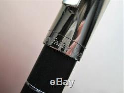 Graf Von Faber Castell Stylo, Anello Anneau Classique, Noir 18 Kt Plume En Or