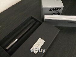 Lamy 2000 Fountain Pen, 14k Fin Nib Et Noir Bouteille D'encre