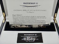 Le Phoenix Waterman Serenite Spécial Maki-e Limited Edition # 074/120 Fp 18k M