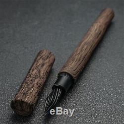 Le Stylo De Wancher Verre. Spécification Vénus Noire, Modèle Wood Limited
