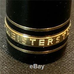 Meisterstück Legrand Fin Noir 14k Or Nib (f) Pen Fontaine 13660