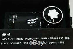 Menthe! . Montblanc Meisterstück 146 Stylo Plume 14 Plume F Avec Encre Noir