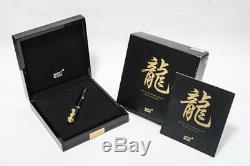 Mont Blanc Wannian Pen Année Du Golden Dragon Limited Edition 2000 Partie