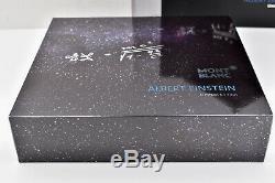Montblanc 2012 Albert Einstein Grands Personnages Limited Edition 2439/3000 Fp M