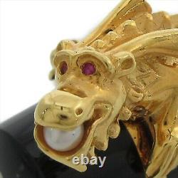 Montblanc Année Du Dragon D'or 2000 28667 Stylo De Fontaine 18k Utilisé