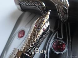 Montblanc Artisan Le Serpent 110 Heritage Collection Rouge Et Noir Pen Limitée