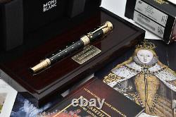 Montblanc Elizabeth I 2010 Patron De L'art Limited Edition Fountain Pen 4810 F