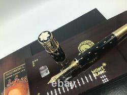 Montblanc Elizabeth I 4810 Limited Edition Patron De L'art Fountain Pen 18k M