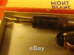 Montblanc Eye Pen Antique Tiger 22 Circa 1950 Wiese Espagne Production