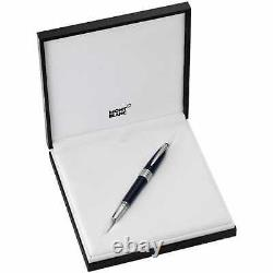 Montblanc John F. Kennedy Jfk Special Edition Blue Fountain Pen M Nib 111045