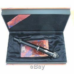 Montblanc Limited Edition Agatha Christie Fountain Pen Medium Pt In Box