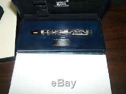Montblanc Limited Edition Octavian Fountain Pen Neuf Dans La Boîte 2217/4810