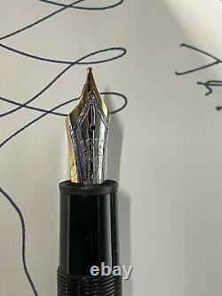 Montblanc Meisterstuck 146 Stylo Plume 14k Or 585