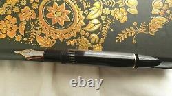 Montblanc Meisterstuck 149 14c Or 4810 M Nib Piston Fountain Pen Two Tone Rare